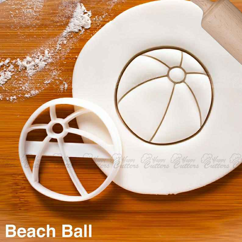 Beach Ball cookie cutter - nautical summer birthday pool party,                       beach cookie cutters, beach themed cookie cutters, beach ball cookie cutter, summer cookie cutters, holiday cookie cutters, holiday cookie cutter set, diy cookie cutter aluminum foil, cute sandwich cutters, backpack cookie cutter, keniao cookie cutters, periodic table cookie cutters, state shaped cookie cutters, amazon halloween cookie cutters, flamingo cookie cutter,