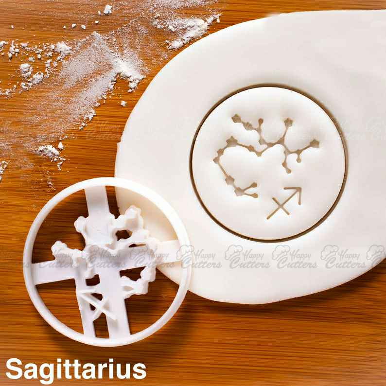 Sagittarius cookie cutter |  biscuits cutters horoscope zodiac star sign sun moon Constellations astrological astrology celestial,                       star cookie cutter, star shaped cookie cutter, small star cookie cutter, star shape cutter, star fondant cutter, outer space cookie cutters, alphabet pastry cutters, door cookie cutter, dog bone cookie cutter kmart, sweet sugarbelle cookie cutters christmas, cute sandwich cutters, elf cookie cutter, space themed cookie cutters, tractor cookie cutter,