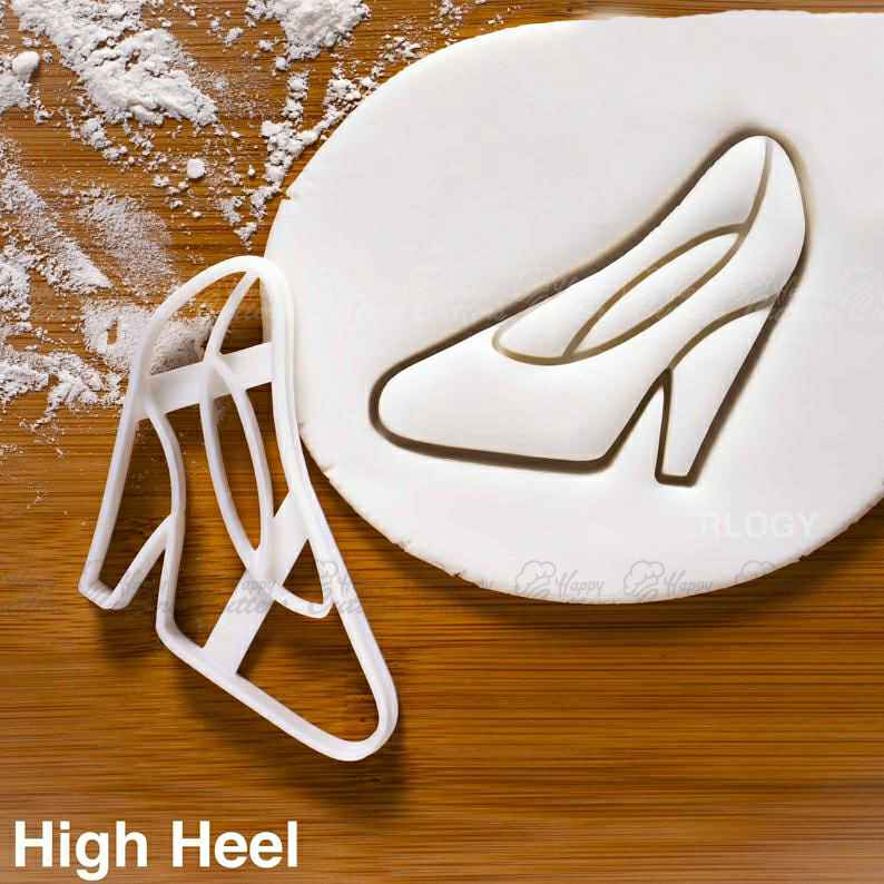 High Heel Shoe Cookie Cutter | shoe | Glass Slipper shoes | fashion heels | one of a kind ooak,                       dress cookie cutter, high heel cookie cutter, high heel shoe cookie cutter, perfume bottle cookie cutter, ballet cookie cutter, corset cookie cutter, custom cookie stamp, cookie cutters poundland, the cookie cutter shop, seahorse cookie cutter, forest animal cookie cutters, vintage cookie cutters, scooby doo cookie cutter, bluey cookie cutter,