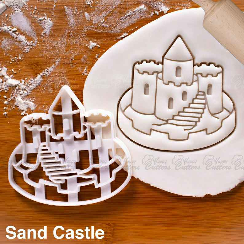 Sand Castle cookie cutter |  biscuit cutters nautical summer party ocean birthday pool mermaid seaside under sea spade Beach Bucket,                       beach cookie cutters, beach themed cookie cutters, beach ball cookie cutter, summer cookie cutters, holiday cookie cutters, holiday cookie cutter set, rolling stones cookie cutter, laser cut cookie cutter, sweet sugarbelle shape shifter cookie cutters, double heart cookie cutter, donald trump cookie cutter, christmas tree cookie cutter set, cotton candy cookie cutter, tmnt cookie cutter,