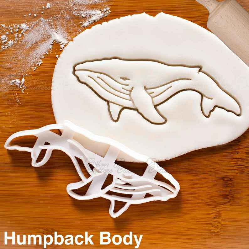 Humpback Whale Body cookie cutter |  biscuit cutters ocean sea marine mammal animal conservation nautical wildlife birthday party,                       animal cutters, animal cookie cutters, farm animal cookie cutters, woodland animal cookie cutters, elephant cookie cutter, dinosaur cookie cutters, kitty cookie cutter, sweet sugarbelle unicorn, ballet slipper cookie cutter, wedding bell cookie cutter, floral cookie cutter, diy heart shaped cookie cutter, leaf cookie cutter michaels, custom cookie stamp,