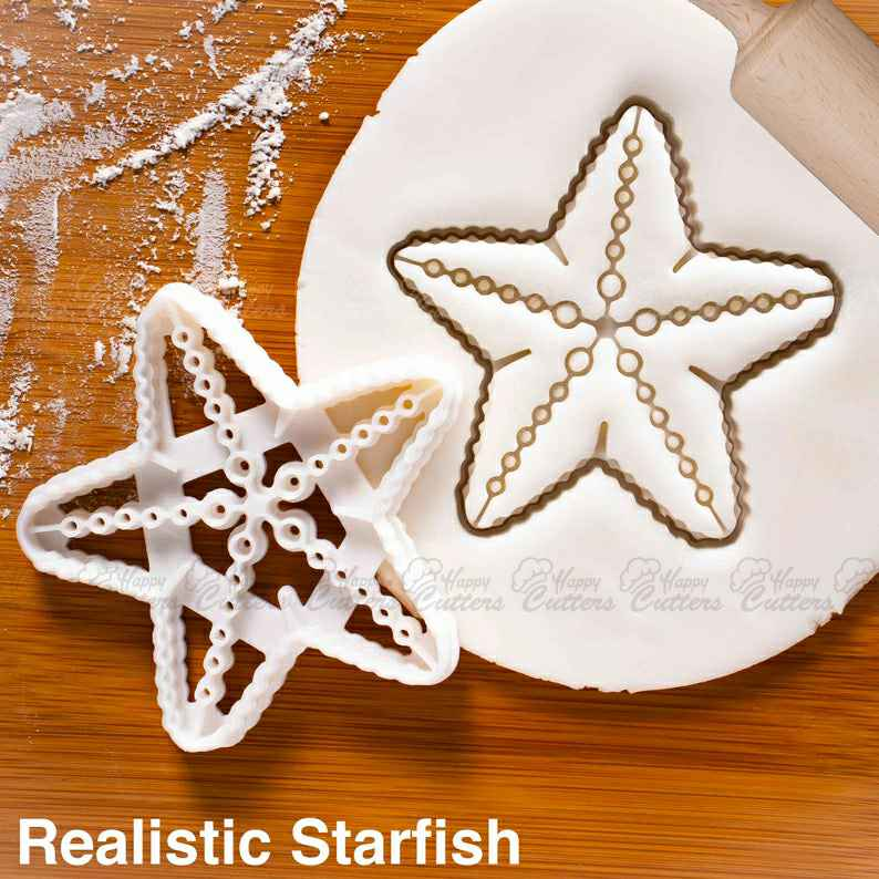 Realistic Starfish cookie cutter |  biscuit cutters star nautical summer beach party ocean birthday pool mermaid seaside under sea,                       beach cookie cutters, beach themed cookie cutters, beach ball cookie cutter, summer cookie cutters, holiday cookie cutters, holiday cookie cutter set, character cookie cutters, weed cookie cutter, large pig cookie cutter, star cookie cutter, tool cookie cutters, wilton dinosaur cookie cutters, fortnite fondant cutter, wedding cookie stamp,