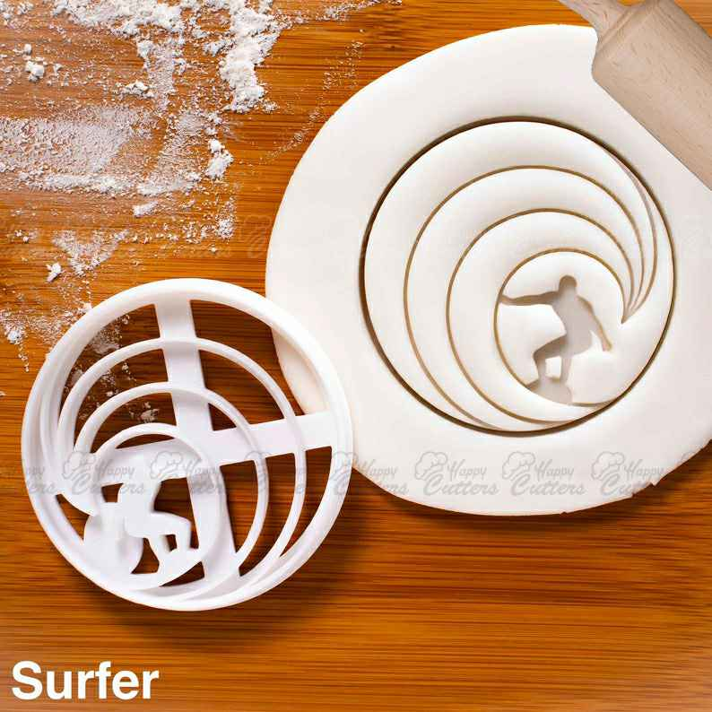 Surfer cookie cutter | biscuit cutter | surfers design cookies | cutters swell sea waves wave rider surfboard surfing craft ooak ,                       beach cookie cutters, beach themed cookie cutters, beach ball cookie cutter, summer cookie cutters, holiday cookie cutters, holiday cookie cutter set, mini elephant cookie cutter, gingerbread cookie molds, thanksgiving cookie cutters walmart, fox head cookie cutter, pyo cookie cutter, meri meri halloween cookie cutters, target halloween cookie cutters, christmas cookie cutters kmart,