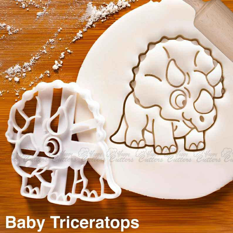 Baby Triceratops cookie cutter and other dinosaurs | biscuit cutter | extinct dinosaur | kawaii science children ,                       animal cutters, animal cookie cutters, farm animal cookie cutters, woodland animal cookie cutters, elephant cookie cutter, dinosaur cookie cutters, trump cookie cutter, dove cookie cutter, father's day cookie cutters, makeshift cookie cutter, best biscuit cutter, otter cookie cutter, 60 cookie cutter, card suit cookie cutters,