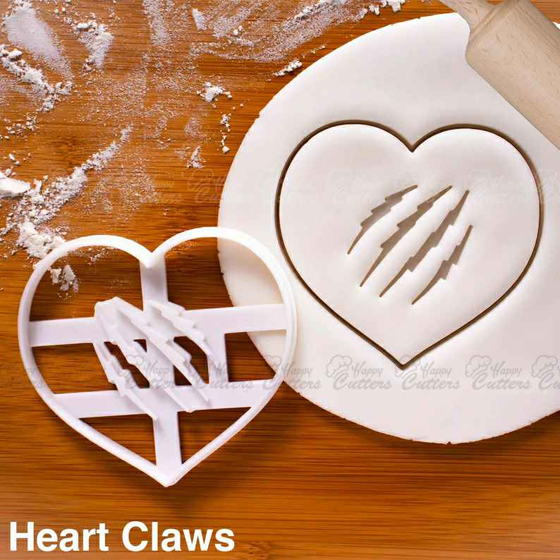 Heart Claws cookie cutter |  biscuit cutters Gifts medical students nurses get well soon health student cute plaster love breakup,                       heart cookie cutter, heart shaped cookie cutter, heart cutter, heart shape cutter, mini heart cookie cutter, love heart cookie cutter, hexagon cookie cutter big w, mickey cutter, jungle animal cutters, finger shaped cookie cutter, unicorn cookie cutter target, disney princess cookie cutters, letter cookie cutters michaels, sweet sugarbelle unicorn,