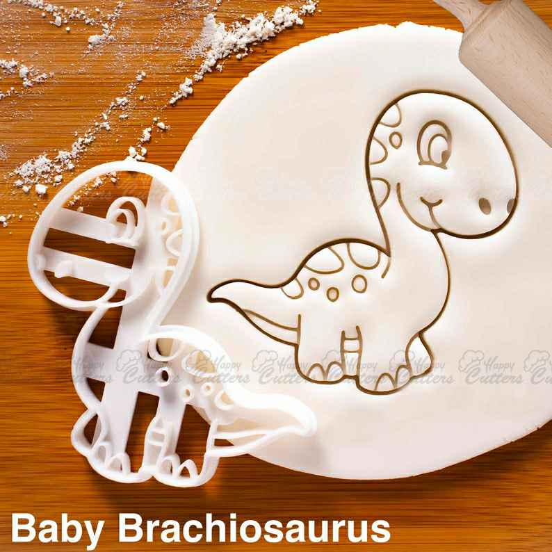Baby Brachiosaurus cookie cutter and other dinosaurs | biscuit cutter | extinct Long Necked sauropod dinosaur | kawaii science children,                       animal cutters, animal cookie cutters, farm animal cookie cutters, woodland animal cookie cutters, elephant cookie cutter, dinosaur cookie cutters, gingerbread woman cutter, penn state cookie cutter, house and key cookie cutter, dinosaur cutters, man cookie cutter, baby girl cookie cutters, black panther cookie cutter, freddie mercury cookie cutter,