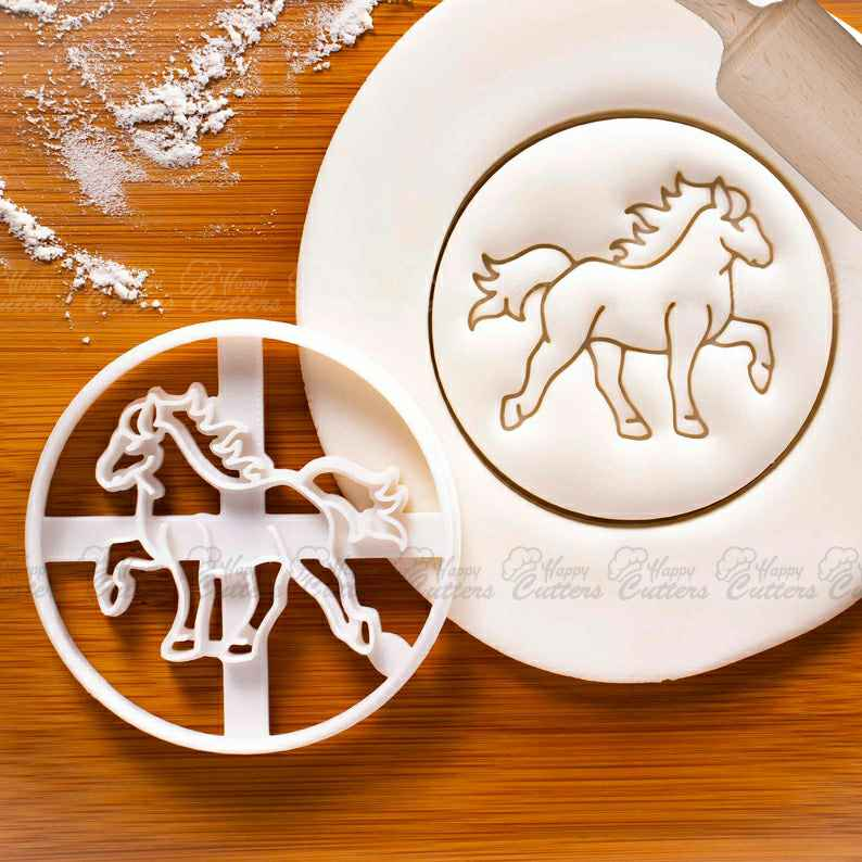 Tolting Icelandic Horse cookie cutter - Horseback Riding biscuits for farm animal themed birthday party,                       animal cutters, animal cookie cutters, farm animal cookie cutters, woodland animal cookie cutters, elephant cookie cutter, dinosaur cookie cutters, superhero fondant cutters, twelve days of christmas cookie cutters, pirate cookie cutter, kawaii cookie cutters, cookie stamp rolling pin, racoon cookie cutter, pennywise cookie cutter, thistle cookie cutter,