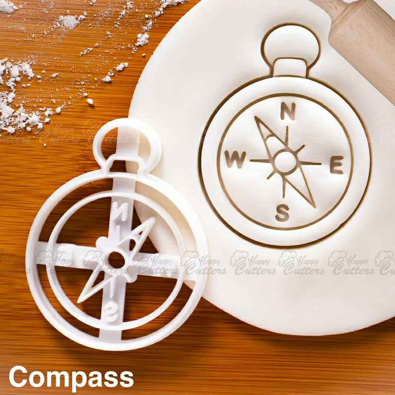 Compass cookie cutter | nautical beach baby shower cookies kids birthday party clues ideas vintage game Scavenger Treasure hunt pirate flag,                       pirate cookie cutter, knight cookie cutter, pirate ship cookie cutter, castle cookie cutter, crown cookie cutter, axe cookie cutter, 8 inch cake cutter, small cookie cutters for fruit, mole cookie cutter, mermaid tail cutter, princess crown cookie cutter, my little pony cookie cutter, sinful cookie cutters, 3d christmas cookie cutters,