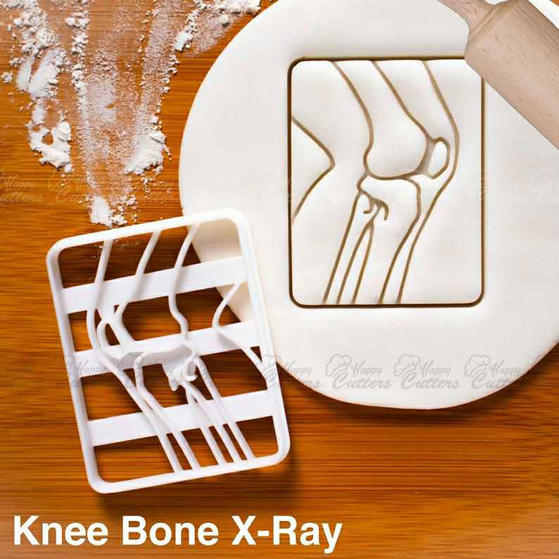 X-Ray Knee Bone cookie cutter | biscuit cutters | Gifts medical students human body parts feet anatomical xray bones skeleton bony anatomy,                       skeleton cookie cutter, gingerdead men, gingerdead man cookie cutter, skull cookie cutter, sugar skeleton cookie cutter, skeleton cookie cutters, cookie cutters canadian tire, disney cookie cutters, round cutter baking, harry potter cookie stamps, fattigmann cutter, best cookie cutters, cookie cutters ireland, shoe cookie cutter,