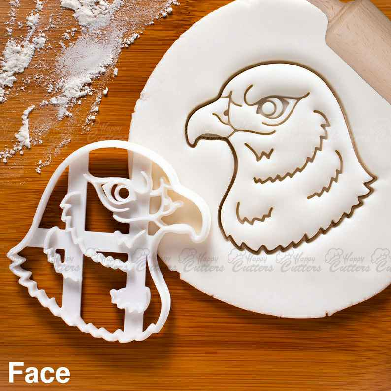 Hawk Face cookie cutter |  biscuit cutters bird Accipitridae zoology zoo Ornithology Mountain prey animal wildlife wild,                       animal cutters, animal cookie cutters, farm animal cookie cutters, woodland animal cookie cutters, elephant cookie cutter, dinosaur cookie cutters, gingerbread cookie molds, pastry cutter nz, scooby doo cookie cutter, greek cookie cutters, ps4 controller cookie cutter, thank you cookie cutter, gear cookie cutter, badge cookie cutter,