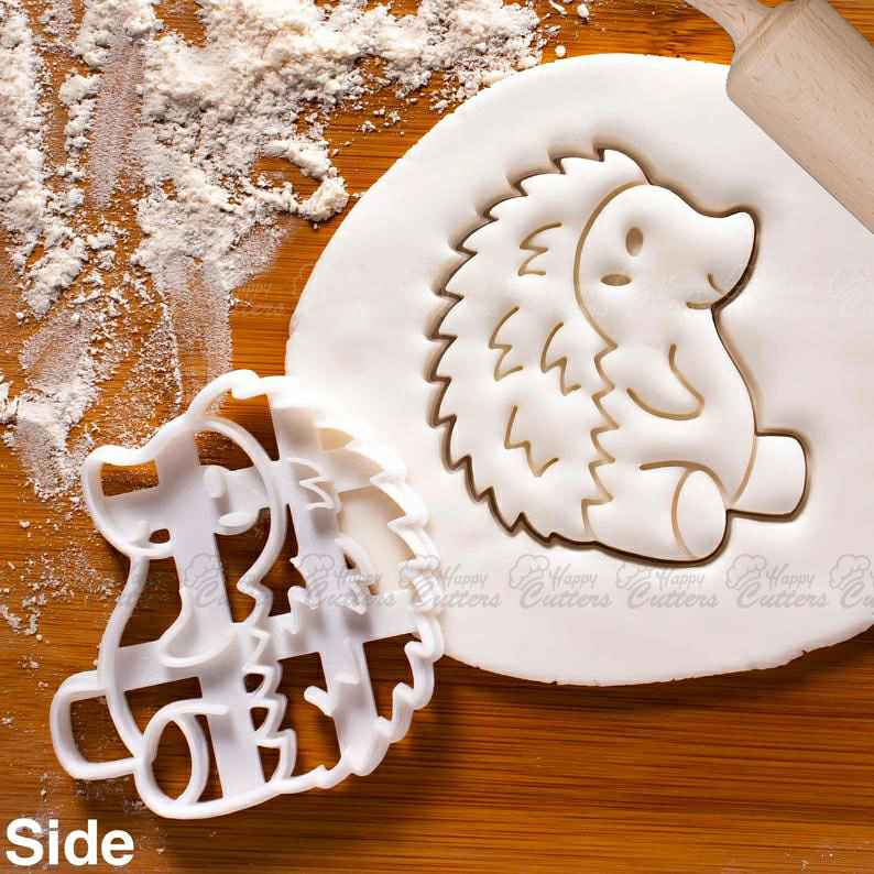 Hedgehog Side cookie cutter |  biscuit cutters baby shower kids 1st birthday party cute spiny mammal woodland nature forest,                       animal cutters, animal cookie cutters, farm animal cookie cutters, woodland animal cookie cutters, elephant cookie cutter, dinosaur cookie cutters, fancy letter cookie cutters, sweet cutters, snow globe cookie cutter michaels, stag cookie cutter, rolling pin with cookie cutters inside, letter e cookie cutter, old cookie cutters, angel cookie cutter,