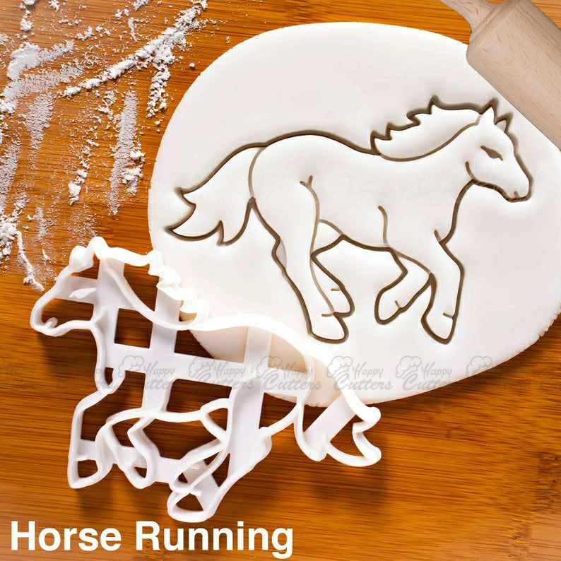 Horse Running cookie cutter |  biscuit cutters Jockey riding race course wild stallion equus equine Equestrian farm veterinarian,                       animal cutters, animal cookie cutters, farm animal cookie cutters, woodland animal cookie cutters, elephant cookie cutter, dinosaur cookie cutters, purdue cookie cutter, chevy cookie cutter, under the sea cookie cutters, christmas cookie cutters target australia, cupcake cookie cutter, pig cookie cutter, dog paw cutter, christmas light cookie cutter,