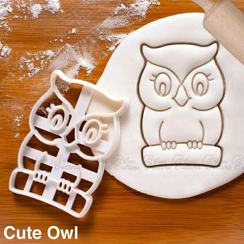 Cute Owl cookie cutter |  biscuit cutters animal tiger owls hoot America bird Ornithology zoology spirit wisdom Ornithologist,                       animal cutters, animal cookie cutters, farm animal cookie cutters, woodland animal cookie cutters, elephant cookie cutter, dinosaur cookie cutters, lotus flower cookie cutter, running shoe cookie cutter, sweet sugarbelle bus cutter, 8 inch round cookie cutter, transport cookie cutters, cookie cutter shop, pusheen cat cookie cutter, kingdom hearts cookie cutter,