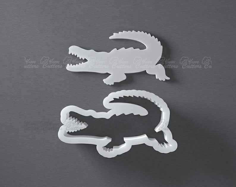 Crocodile cookie cutter, alligator biscuit cutter,                       animal cutters, animal cookie cutters, farm animal cookie cutters, woodland animal cookie cutters, elephant cookie cutter, dinosaur cookie cutters, platter cookie cutters, buy cookie cutters, sweet sugarbelle scarecrow cookie cutter, unicorn head cookie, jungle cookie cutters, cool cookie shapes, cookie cutters michaels, sandwich cut outs,