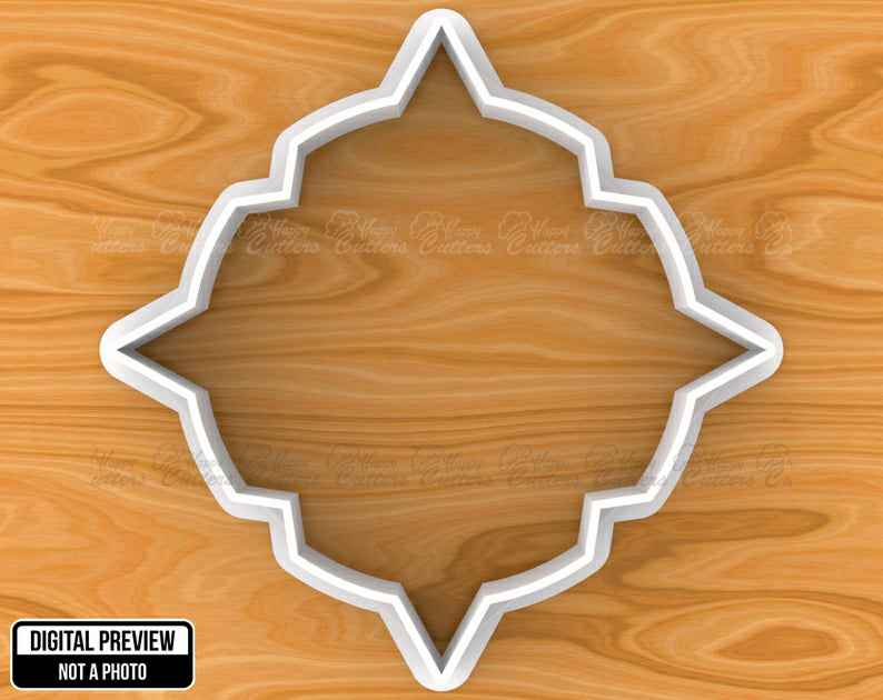 Vintage Plaque Frame Cookie Cutter, Selectable sizes, Sharp Edge Upgrade Available SKU1037,                       plaque cookie cutter, plaque cookie, square plaque cookie cutter, cookie plaque, shape cutters, round cookie cutters, sugar cookie stamps, flower biscuit cutter, tuxedo cookie cutter, jersey cookie cutter, cut it out cookie cutters, happy birthday cookie cutter, frenchie cookie cutter, day of the dead cookie cutter,
