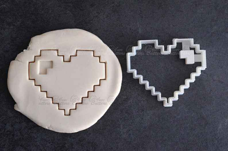 Pixel heart cookie cutter - Valentine cookie cutter - Marry me cookie cutter - Geek love cookie cutter - Geek wedding - Geek valentine heart,                       heart cookie cutter, heart shaped cookie cutter, heart cutter, heart shape cutter, mini heart cookie cutter, love heart cookie cutter, gingerdead man cookie cutter, oblong cookie cutter, space cookie cutters, baby feet cookie cutter, nightmare before christmas cookie cutters, basketball jersey cookie cutter, jumbo gingerbread man cookie cutter, canadian cookie cutters,