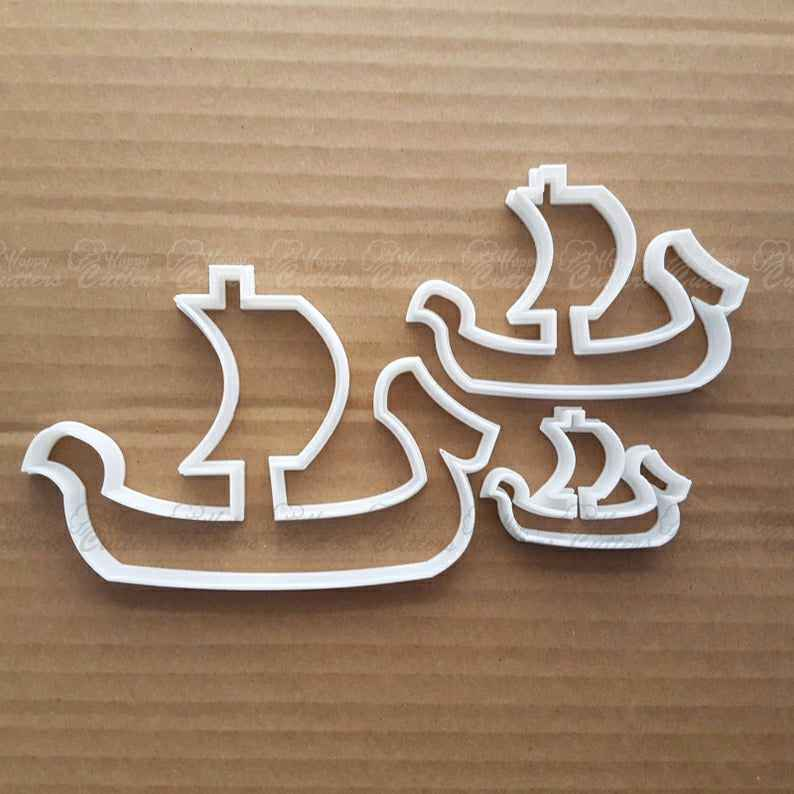 Boat Ship Pirate Yacht Shape Cookie Cutter Dough Biscuit Pastry Fondant Sharp Stencil Vehicle Beach Seaside Ocean Sea Side,                       ocean cookie cutters, ocean themed cookie cutters, mermaid cookie cutter, mermaid tail cookie cutter, little mermaid cookie cutters, mermaid cutter, rolling cookie cutter set, soccer cookie cutter, chili pepper cookie cutter, scalloped fondant cutter, vegetable shape cutter, lacrosse cookie cutter, wilton 30 piece cookie cutter set, hulk cookie cutter,