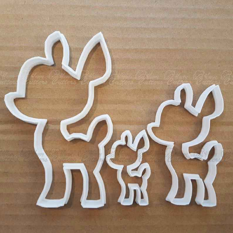 Baby Deer Cookie Cutter Fawn Dough Animal Biscuit Pastry Bambi Shape Stencil Sharp Mammal,                       bambi cookie cutter, bambi animal cutters, animal cookie cutters, animal shaped cookie cutters, jungle animal cookie cutters, bambi cookie cutters, bunny biscuit cutter, bone shaped cookie cutter, shamrock cookie cutters, corgi cookie cutter, ballerina cookie cutter, bulk christmas cookie cutters, splash cookie cutter, trolley cookie cutter,