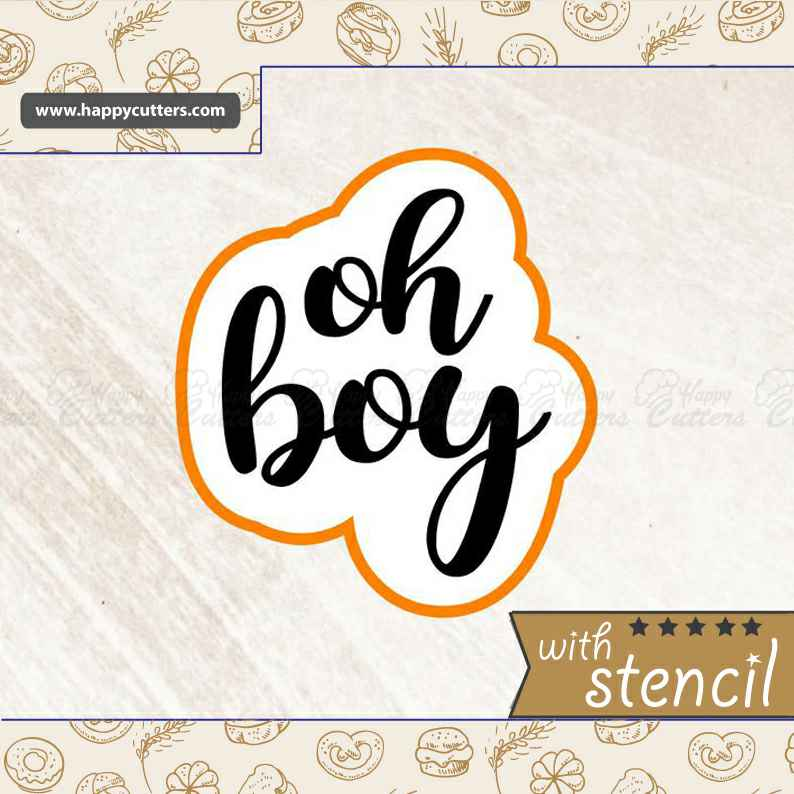 Oh Boy Cookie Cutter,                       letter cookie cutters, cursive letter cookie stamp, cursive letter fondant cutters, fancy letter cookie cutters, large letter cookie cutters, letter shaped cookie cutters, sweetleigh cookie cutters, pyo cookie cutter, cookie stamps amazon, mini flower cookie cutters, 60 cookie cutter, hobby lobby cookie cutter, hat cookie cutter, baby shower cookie stencils,
