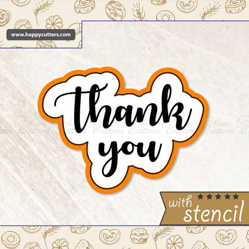 Thank You 2 Cookie Cutter,                       letter cookie cutters, cursive letter cookie stamp, cursive letter fondant cutters, fancy letter cookie cutters, large letter cookie cutters, letter shaped cookie cutters, squirrel cookie cutter, biscuit cutter walmart, 2 inch cookie cutter, mini leaf cookie cutter, linzer cookie cutter set, g cookie cutter, cat cookie cutter, puzzle piece cookie cutter,