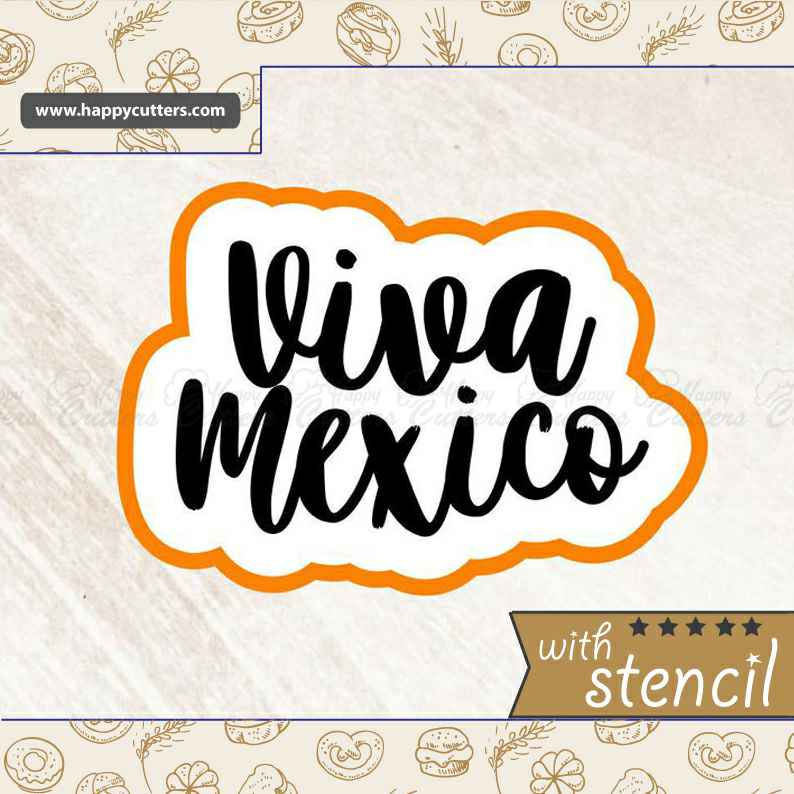 Viva Mexico Cookie Cutter,                       letter cookie cutters, cursive letter cookie stamp, cursive letter fondant cutters, fancy letter cookie cutters, large letter cookie cutters, letter shaped cookie cutters, cutter set, victoria secret cookie cutter, sandwich cut outs, ballerina cookie cutter, letter b cookie cutter, horseshoe cookie cutter, 80 cookie cutter, geometric shape cookie cutters,