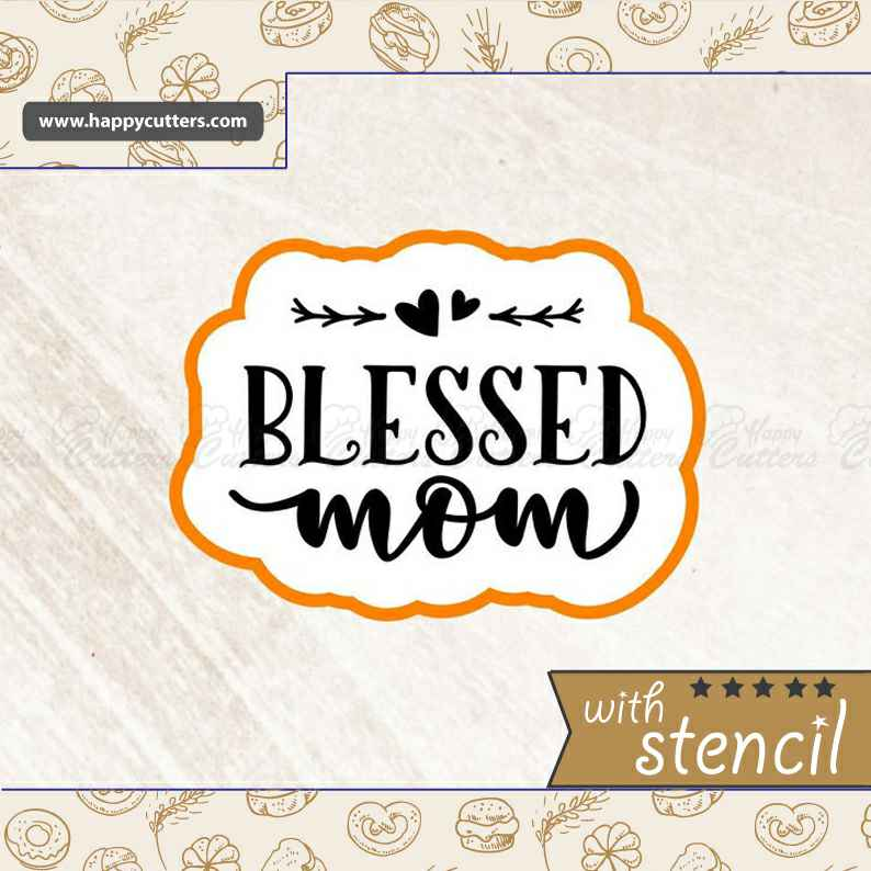 Blessed Mom Cookie Cutter,                       letter cookie cutters, cursive letter cookie stamp, cursive letter fondant cutters, fancy letter cookie cutters, large letter cookie cutters, letter shaped cookie cutters, stitch cookie cutter, cat paw cookie cutter, aluminum cookie cutters, aliexpress cookie cutters, lakeland snowflake cutters, diamond shaped cookie cutter, fancy cookie cutters, fortnite fondant cutter,
