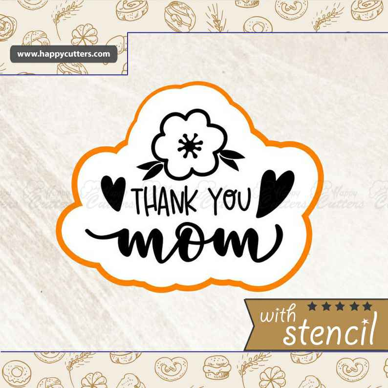 Thank You Mom Cookie Cutter,                       letter cookie cutters, cursive letter cookie stamp, cursive letter fondant cutters, fancy letter cookie cutters, large letter cookie cutters, letter shaped cookie cutters, toothbrush cookie cutter, sesame street cookie cutters, corn cookie cutter, cookie shapes by hand, 3d gingerbread house cookie cutter, biscuit cutter for sale, letter m cookie cutter, leaf shaped cookie cutters,