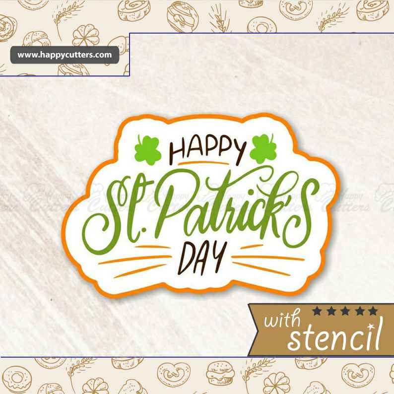 St Patrick's Day 3 Cookie Cutter,                       letter cookie cutters, cursive letter cookie stamp, cursive letter fondant cutters, fancy letter cookie cutters, large letter cookie cutters, letter shaped cookie cutters, snow white cookie cutters, gruffalo biscuit cutter, star fondant cutter, perfume bottle cookie cutter, seashell cookie cutter, diy cookie cutter, swaddled baby cookie cutter, pomeranian cookie cutter,