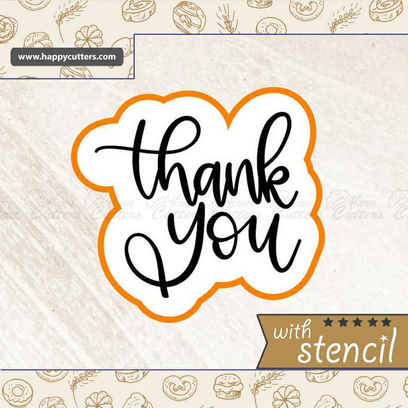 Thank You 1 Cookie Cutter,                       letter cookie cutters, cursive letter cookie stamp, cursive letter fondant cutters, fancy letter cookie cutters, large letter cookie cutters, letter shaped cookie cutters, canadian tire cookie cutters, vegetable cookie cutters, miniature christmas cookie cutters, letter j cookie cutter, w cookie cutter, fish shape cutter, exotic cookie cutters, pink ribbon cookie cutter,