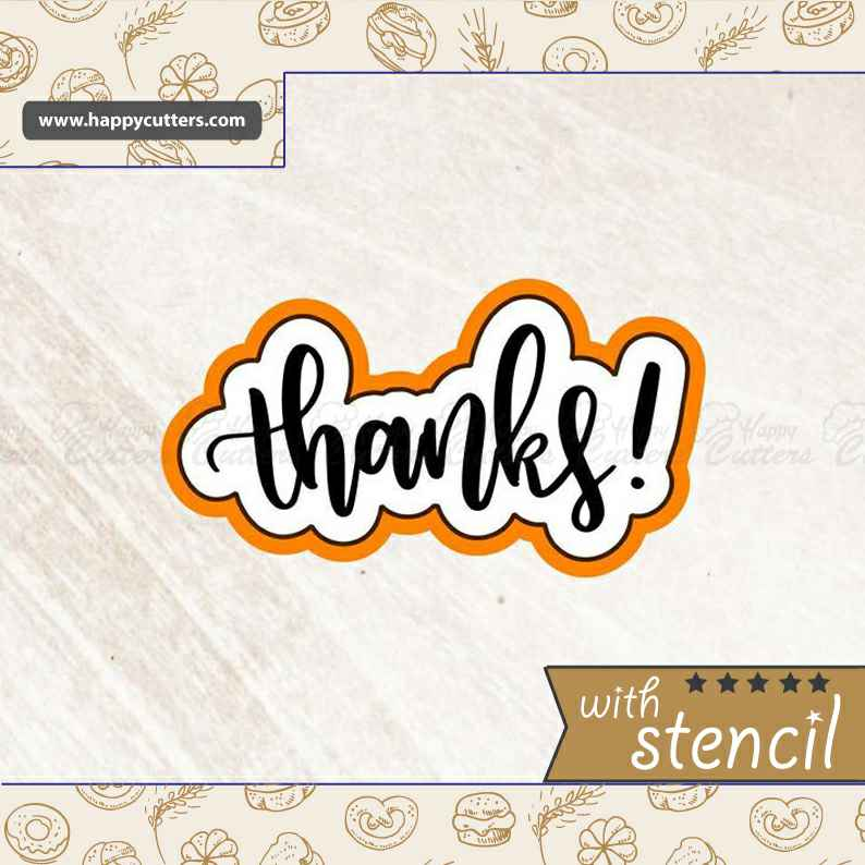 Thanks 2 Cookie Cutter,                       letter cookie cutters, cursive letter cookie stamp, cursive letter fondant cutters, fancy letter cookie cutters, large letter cookie cutters, letter shaped cookie cutters, baby cookie cutters target, 3d mini gingerbread house cookie cutter, ballet slipper cookie cutter, hot dog cookie cutter, linzer cookie cutter set, rectangle cookie, baby shower cookie stencils, mermaid cookie cutter,