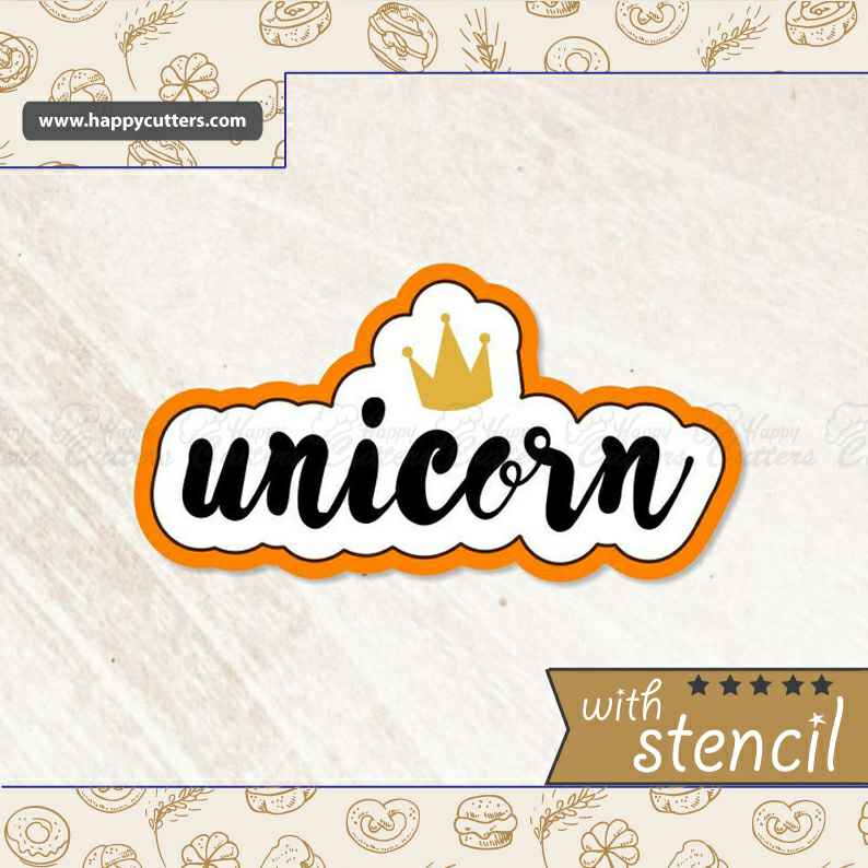 Unicorn Hand Lettered Cookie Cutter,                       letter cookie cutters, cursive letter cookie stamp, cursive letter fondant cutters, fancy letter cookie cutters, large letter cookie cutters, letter shaped cookie cutters, hot dog cookie cutter, safari animal cookie cutters, plaque cookie cutter, tuxedo cookie cutter, fortnite llama cookie cutter, spoon shaped cookie cutter, llama cookie cutter, 8 cookie cutter,
