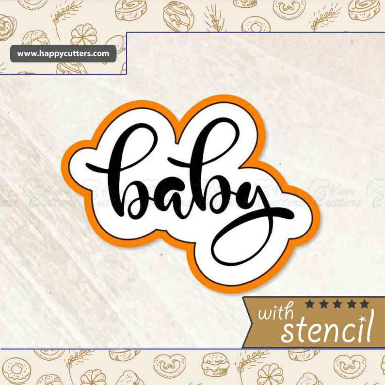 Baby 1 Hand Lettered Cookie Cutter,                       letter cookie cutters, cursive letter cookie stamp, cursive letter fondant cutters, fancy letter cookie cutters, large letter cookie cutters, letter shaped cookie cutters, hammer cookie cutter, soccer ball cookie cutter michaels, vehicle cookie cutters, dino cookie cutter, party hat cookie cutter, autumn leaf cookie cutter, miss to mrs cookie cutter, jh cookie cutters,