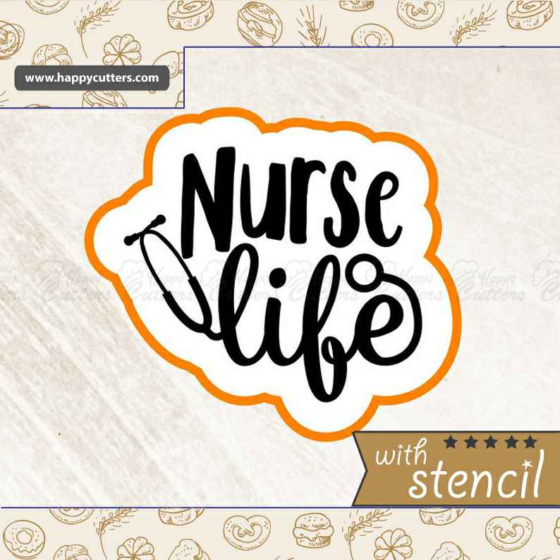 Nurse Life Cookie Cutter,                       letter cookie cutters, cursive letter cookie stamp, cursive letter fondant cutters, fancy letter cookie cutters, large letter cookie cutters, letter shaped cookie cutters, metal cookie cutters, 4th of july cookie cutters, large gingerbread man cookie cutter, curly letter cookie cutters, tool shaped cookie cutters, kohls cookie cutters, lady milkstache cookie cutters, truck and tree cookie cutter,