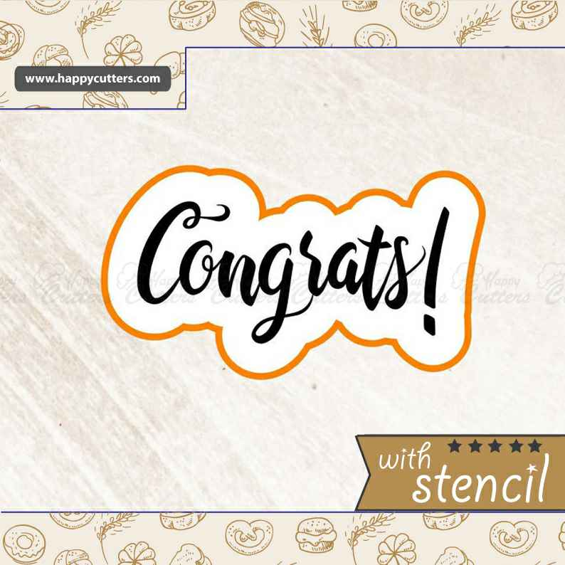 Congrats 2 Cookie Cutter,                       letter cookie cutters, cursive letter cookie stamp, cursive letter fondant cutters, fancy letter cookie cutters, large letter cookie cutters, letter shaped cookie cutters, dog biscuit cutters uk, shortbread cookie cutter, biscuit cutters argos, tribal cookie cutters, sandwich shape cutters, iron man cookie cutter, cookie platter cutters, owl cookie cutter,