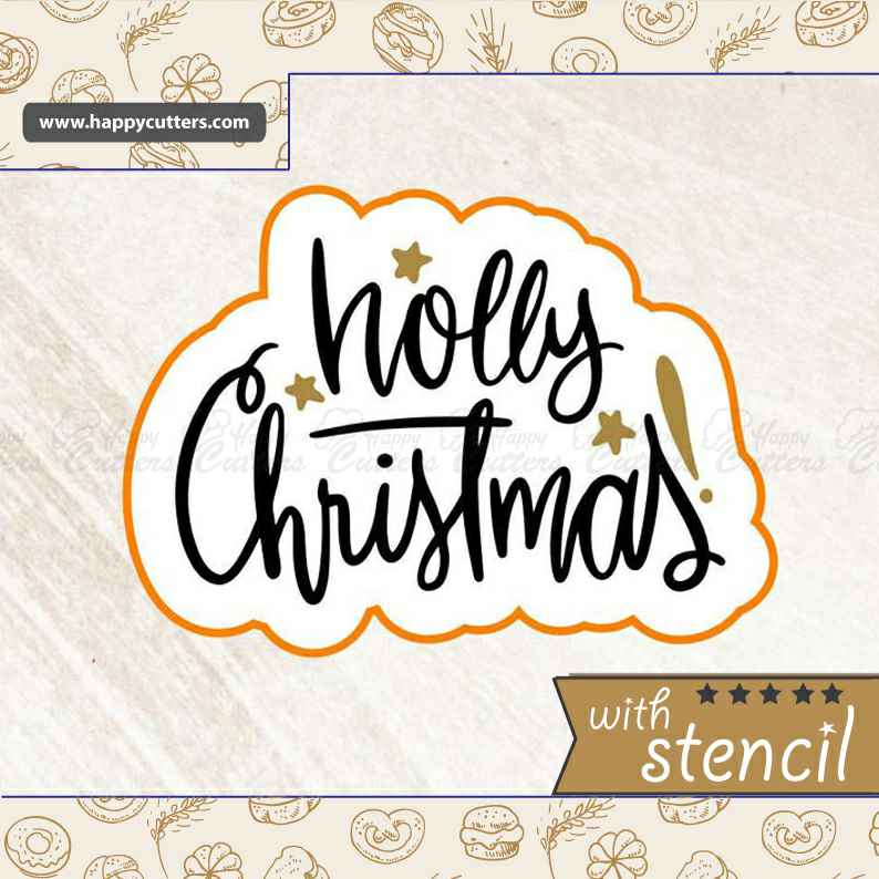 Holly Christmas,                       letter cookie cutters, cursive letter cookie stamp, cursive letter fondant cutters, fancy letter cookie cutters, large letter cookie cutters, letter shaped cookie cutters, pokemon sandwich cutter, turkey cookie cutter michaels, sweet sugarbelle halloween cutters, small cookie cutters, aeroplane cookie cutter, ice cream cone cookie cutter, teapot cookie cutter, baby cookie cutters target,