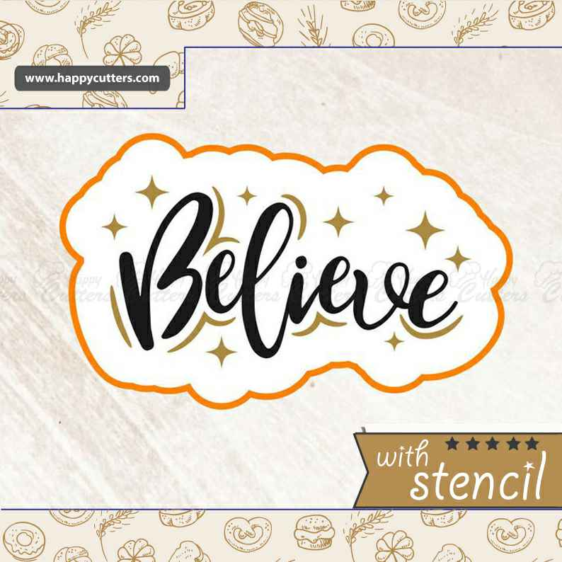 Believe,                       letter cookie cutters, cursive letter cookie stamp, cursive letter fondant cutters, fancy letter cookie cutters, large letter cookie cutters, letter shaped cookie cutters, fred cookie cutters, pumpkin shaped cookie cutter, bone biscuit cutter, bunny biscuit cutter, air jordan cookie cutter, custom cookie stamp, bone cookie cutter, diy cookie cutter aluminum foil,