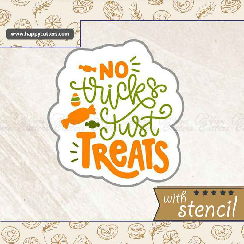 No Tricks just Treats,                       letter cookie cutters, cursive letter cookie stamp, cursive letter fondant cutters, fancy letter cookie cutters, large letter cookie cutters, letter shaped cookie cutters, turkey cookie cutter, fussy pup cookie cutters, miss to mrs cookie cutter, lakeland snowflake cutters, 1 inch round cookie cutter, wilton cookie cutters michaels, graduation hat cookie cutter, scalloped cookie cutter,
