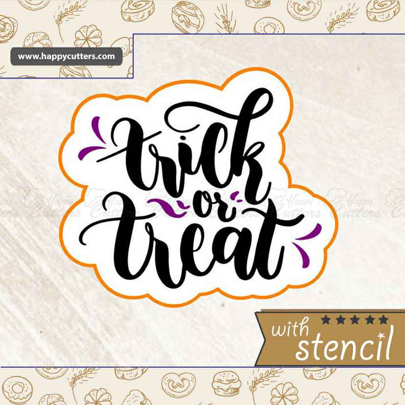 Trick or Treat,                       letter cookie cutters, cursive letter cookie stamp, cursive letter fondant cutters, fancy letter cookie cutters, large letter cookie cutters, letter shaped cookie cutters, groundhog cookie cutter, grateful dead bear cookie cutter, seal cookie cutter, cookie cutters with matching stencils, fox run cookie cutters, martini glass cookie cutter, cake cutter round, tiny star cookie cutter,