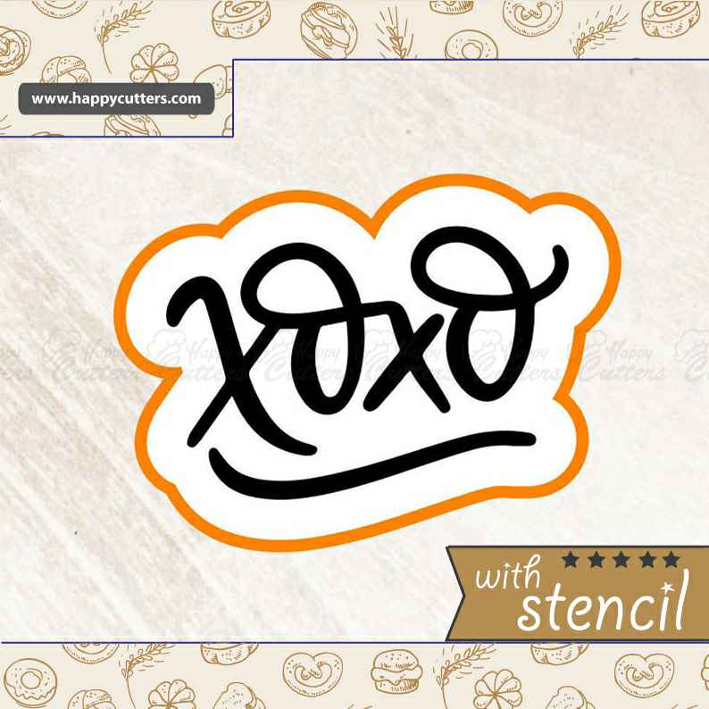 XOXO 2,                       letter cookie cutters, cursive letter cookie stamp, cursive letter fondant cutters, fancy letter cookie cutters, large letter cookie cutters, letter shaped cookie cutters, hexagon cookie cutter, harry potter biscuit cutters, one piece cookie cutter, dinosaur cookie cutters sainsburys, cookie cutters & stamps, princess cookie cutters, super mario cookie cutters, curious george cookie cutter,
