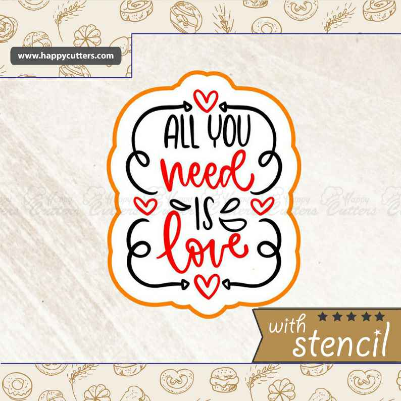 All You Need is Love,                       letter cookie cutters, cursive letter cookie stamp, cursive letter fondant cutters, fancy letter cookie cutters, large letter cookie cutters, letter shaped cookie cutters, emoji cutters, sailboat cookie cutter, first communion cookie cutters, daniel tiger cookie cutter, bass cookie cutter, lakeland cookie cutters, garbage truck cookie cutter, pig cutter,
