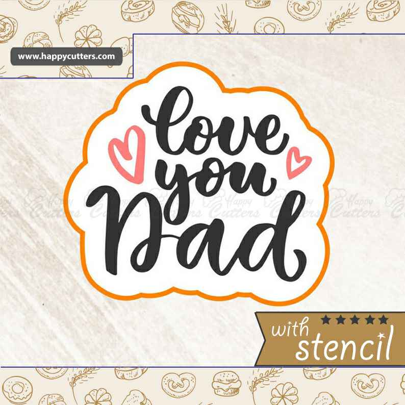 Love You Daddy,                       letter cookie cutters, cursive letter cookie stamp, cursive letter fondant cutters, fancy letter cookie cutters, large letter cookie cutters, letter shaped cookie cutters, 80 cookie cutter, mini cookie cutters michaels, milk bottle cookie cutter, oak leaf cookie cutter, specialty cookie cutters, linzer cookie cutter, nutcracker cookie cutter, llama biscuit cutter,