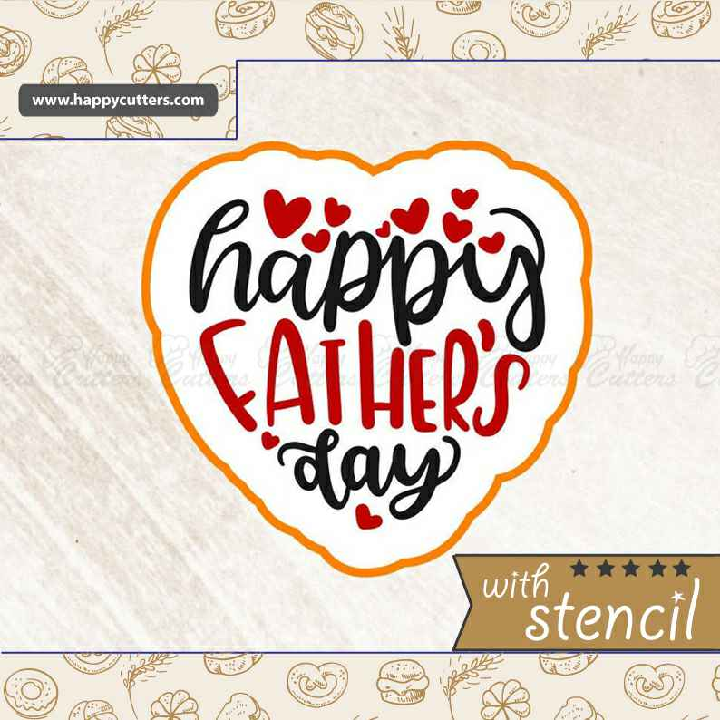 Happy Father's Day 5,                       letter cookie cutters, cursive letter cookie stamp, cursive letter fondant cutters, fancy letter cookie cutters, large letter cookie cutters, letter shaped cookie cutters, christmas bulb cookie cutter, martini cookie cutter, homemade biscuit cutter, hexagon cookie cutter michaels, large metal cookie cutters, square unicorn cookie cutter, gingerbread house cookie cutter set, vintage car cookie cutter,