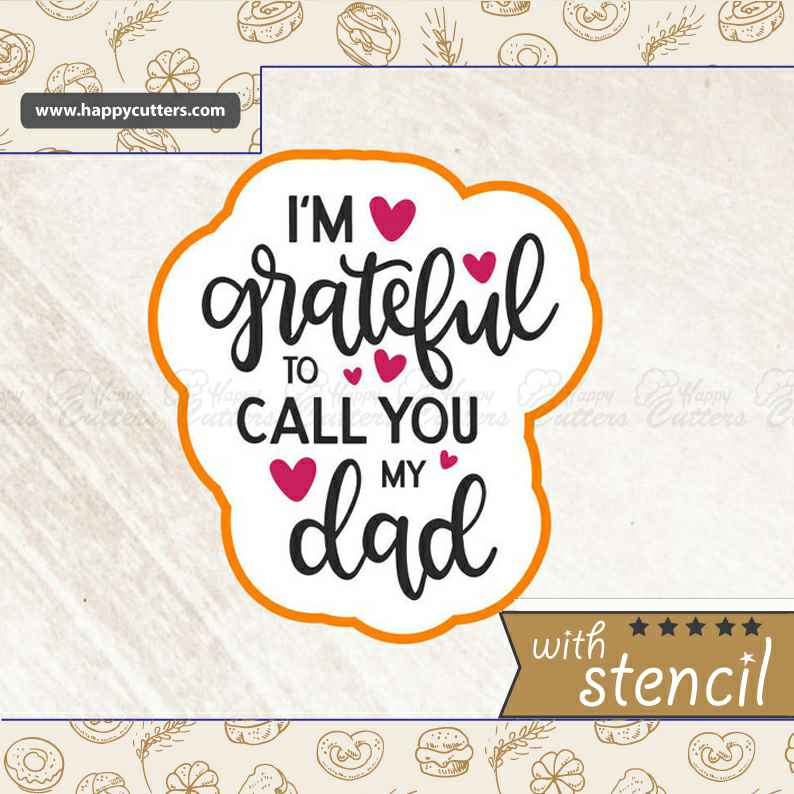 Grateful Dad Cookie Cutter,                       letter cookie cutters, cursive letter cookie stamp, cursive letter fondant cutters, fancy letter cookie cutters, large letter cookie cutters, letter shaped cookie cutters, helmet cookie cutter, animal cookie cutters, mickey mouse hand cookie cutter, cow face cookie cutter, coffin cookie cutter, r and m cookie cutters, star trek cookie cutters, coco chanel cookie cutter,