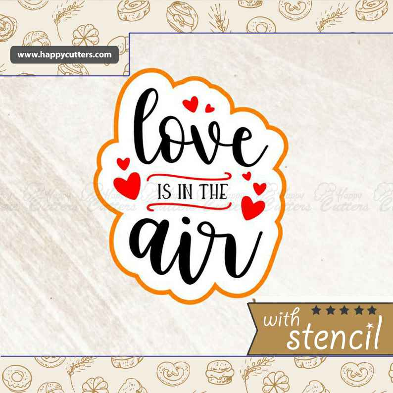 Love is in the Air Cookie Cutter,                       letter cookie cutters, cursive letter cookie stamp, cursive letter fondant cutters, fancy letter cookie cutters, large letter cookie cutters, letter shaped cookie cutters, pampered chef christmas cookie cutters, cookie cutter baking, santa sleigh cookie cutter, shield cookie cutter, gem cookie cutter, supernatural cookie cutter, custom cookie cutters canada, thumbprint cookie stamps,