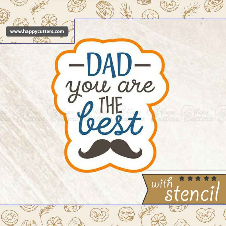 Dad You Are The Best Cookie Cutter,                       letter cookie cutters, cursive letter cookie stamp, cursive letter fondant cutters, fancy letter cookie cutters, large letter cookie cutters, letter shaped cookie cutters, k cookie cutter, gecko cookie cutter, small round cookie cutter, reptile cookie cutters, dinosaur cookie cutters kmart, mini shape cutters, giant cookie cutter decoration, sweet sugarbelle valentine cookie cutters,