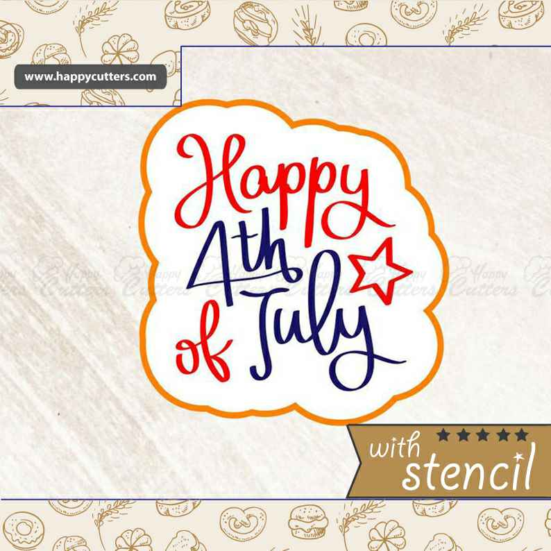 Happy 4th of July 2,                       letter cookie cutters, cursive letter cookie stamp, cursive letter fondant cutters, fancy letter cookie cutters, large letter cookie cutters, letter shaped cookie cutters, 8 inch cookie cutter, nerdy cookie cutters, tiny star cookie cutter, congrats cookie cutter, trump cookie cutter, sanderson sisters cookie cutters, oh baby cookie stamp, polar bear cookie cutter,