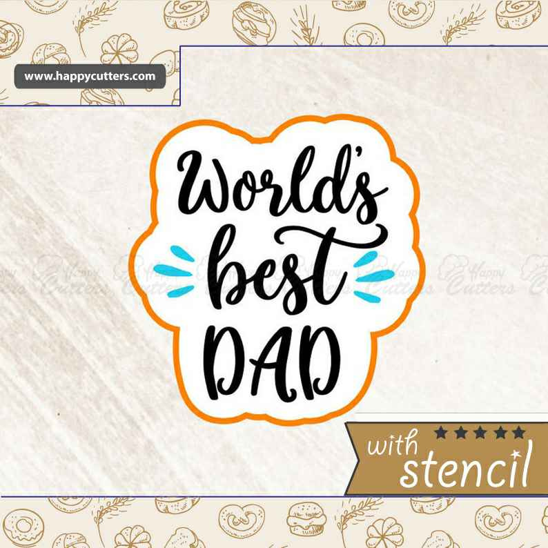 World's Best Dad Cookie Cutter,                       letter cookie cutters, cursive letter cookie stamp, cursive letter fondant cutters, fancy letter cookie cutters, large letter cookie cutters, letter shaped cookie cutters, square cookie cutter set, vintage truck cookie cutter, japanese cookie cutters, soccer ball cookie cutter, mini cookie cutters michaels, spartan cookie cutter, biscuit cutter target, tree shaped cookie cutters,