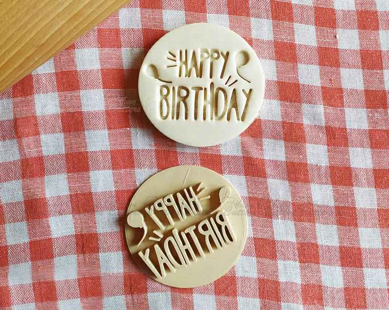 Happy Birthday Stamp Embosser Cookie Cutter Pastry Fondant Dough Biscuit,                       birthday cookie cutters, happy birthday cookie cutter, birthday cake cookie cutter, happy birthday cookie stamp, baby shower cookie cutters, bridal shower cookie cutters, hexagon cookie cutter, car cookie cutter michaels, yoda cookie cutter, hexagon biscuit cutter, jersey cookie cutter, nerf cookie cutter, christmas light cookie cutter, dragon ball z cookie cutters,