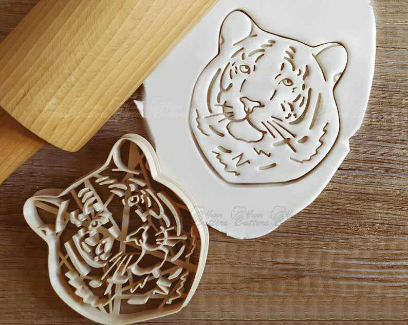 Tiger Cat Cookie Cutter Pastry Fondant Dough Biscuit,                       animal cutters, animal cookie cutters, farm animal cookie cutters, woodland animal cookie cutters, elephant cookie cutter, dinosaur cookie cutters, baby shower biscuit cutters, lacrosse stick cookie cutter, gucci cookie cutter, shell cookie cutter, rugrats cookie cutters, animal cracker cookie cutters, superman cutter, zelda cookie cutter,