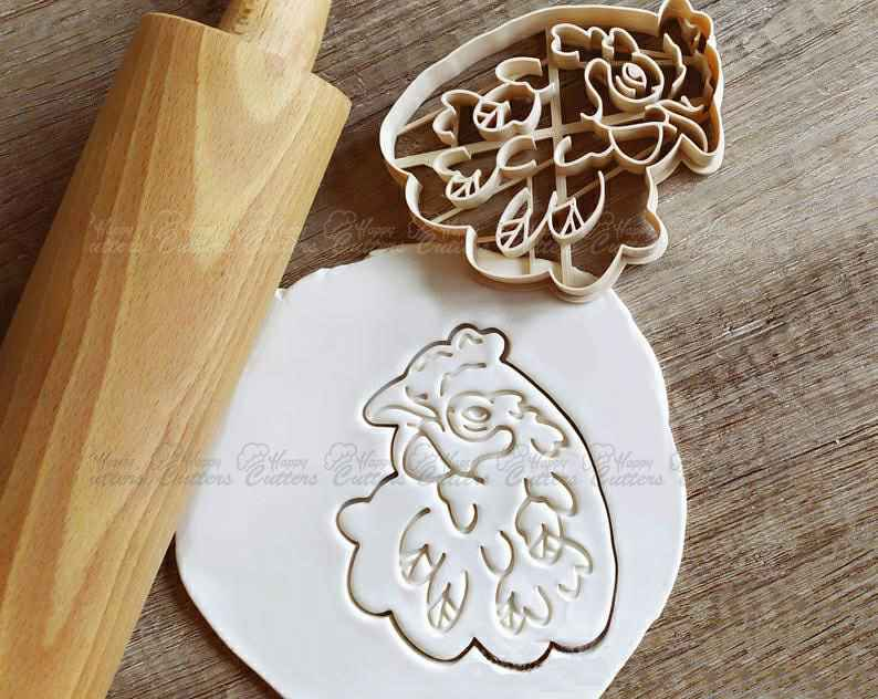 Rooster Chicken Cookie Cutter Pastry Fondant Dough Biscuit,                       animal cutters, animal cookie cutters, farm animal cookie cutters, woodland animal cookie cutters, elephant cookie cutter, dinosaur cookie cutters, puppy dog pals cookie cutters, christmas cookie cutters ireland, lego head cookie cutter, giant christmas cookie cutters, pampered chef easter cookie cutters, texas cookie cutter, snowmobile cookie cutter, donut cookie cutter,